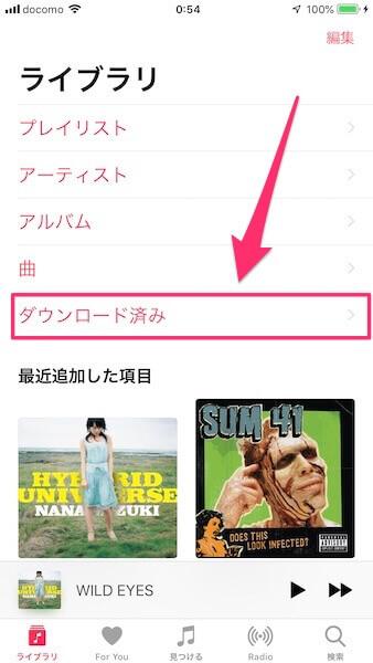 最近 ダウンロード した 項目 apple music